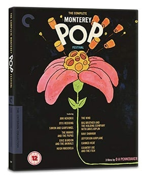 The Complete Monterey Pop Festival - The Criterion Collection  [Region Free]