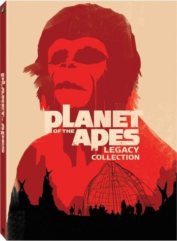 Planet of the Apes - The Legacy Collection (Five Discs)