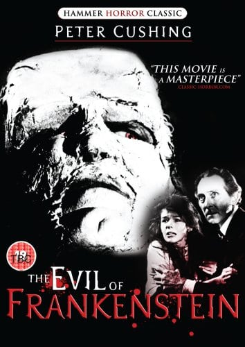 The Evil Of Frankenstein [1964] [DVD]