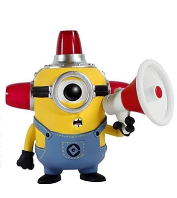Despicable Me 2 Pop! Vinyl: Fire Alarm Minion