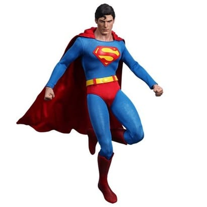 Hot Toys Movie Masterpiece 1/6 Scale Collectible Figure Superman Christopher Reeves