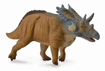 CollectA Prehistoric Life Mercuriceratops Toy Dinosaur Figure - Authentic Hand Painted Model