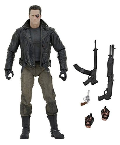 NECA Terminator Ultimate Police Station Assault T-800 7
