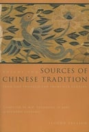 Sources of Chinese Tradition, Vol. 2