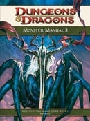Monster Manual 3: A 4th Edition D&D Core Rulebook