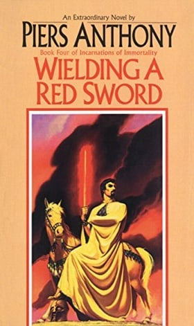 Incarnations of Immortality 4: Wielding a Red Sword