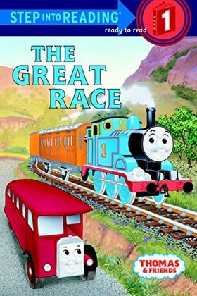 The Great Race (Step-Into-Reading, Step 1)