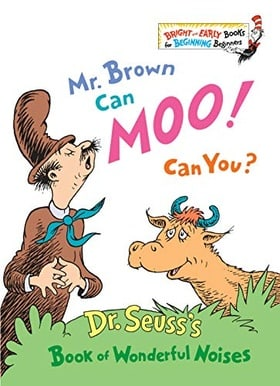 Mr. Brown Can Moo! Can You? Book of Wonderful Noises (Bright & Early Books)