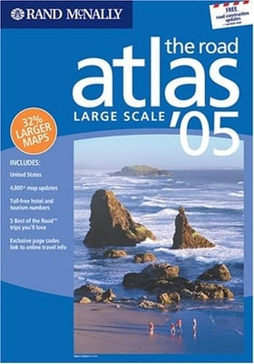 Rand McNally Large Scale Road Atlas (Rand McNally Large Scale Road Atlas U. S. A.)