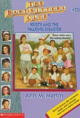 Kristy and the Walking Disaster (Baby-Sitters Club)