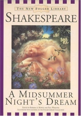 A Midsummer Nights Dream (New Folger Library Shakespeare)