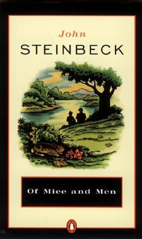 Of Mice And Men (Turtleback School & Library Binding Edition) (Penguin Great Books of the 20th Century)
