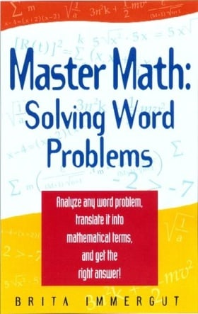 Master Math: Solving Word Problems (Master Math Series)