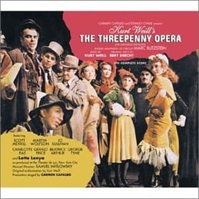 The Threepenny Opera (1954 New York Cast) (Blitzstein Adaptation)