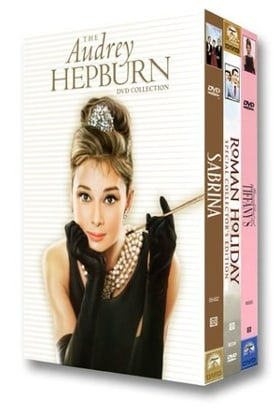 The Audrey Hepburn DVD Collection (Roman Holiday / Sabrina / Breakfast at Tiffany's)
