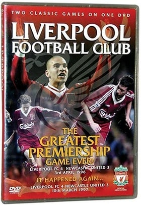 LIVERPOOL FOOTBALL CLUB: The Greatest Premeir Game Ever  ( Liverpool FC 4 Newcastle United 3 3rd Apr