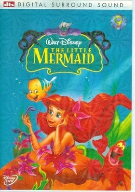 The Little Mermaid Disney DVD Widescreen