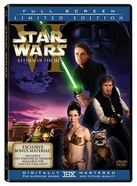 Star Wars Episode VI - Return of the Jedi (2-discs with Full Screen enhanced and original theatrical