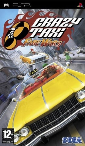 Crazy Taxi: Fare Wars (PSP) UK Edition