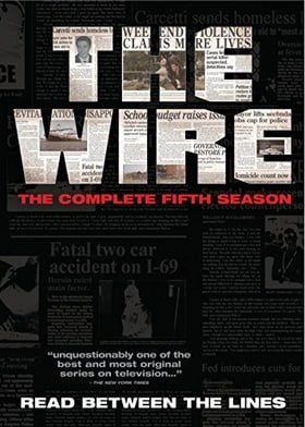 Wire: Complete Fifth Season   [Region 1] [US Import] [NTSC]