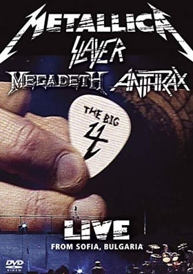 Metallica / Slayer / Megadeth / Anthrax - The Big 4: Live From Sofia Bulgaria (2DV)