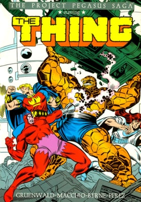 The Thing: Project Pegasus (Marvel Premiere Classic)