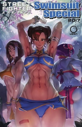 Street Fighter & Friends Swimsuit Special
