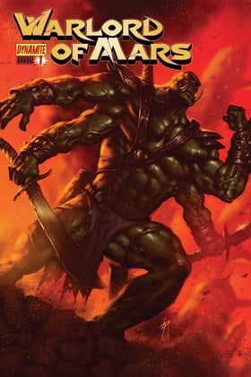 Warlord of Mars: Annual
