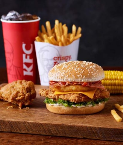 KFC Wicked Zinger Meal