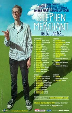 Stephen Merchant: Hello Ladies... Live!