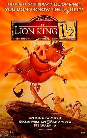 The Lion King 1 1/2 (2004)