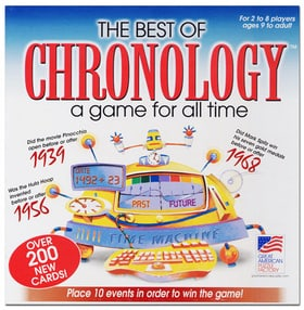The Best of Chronology: A Game for All Time