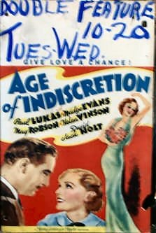 Image result for age of indiscretion 1935