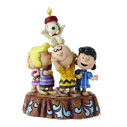 Peanuts 65th Anniversary Jim Shore Statue