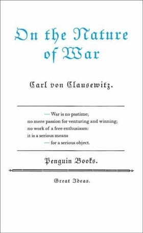 On the Nature of War (Penguin Great Ideas)