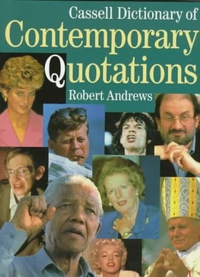 Cassell Dictionary of Contemporary Quotations