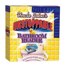 Uncle John's Unstoppable Bathroom Reader Page-A-Day Calendar 2008 (Page-A-Day Calendars)