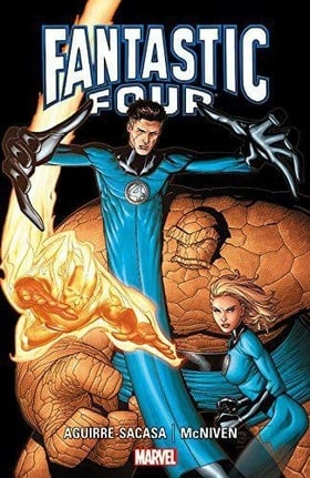 Fantastic Four by Aguirre-Saca & McNiven