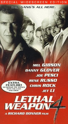 Lethal Weapon 4 (Widescreen Edition) [VHS]