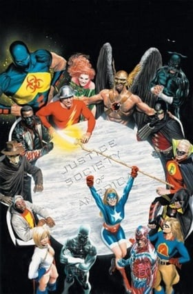 Justice Society Of America HC Vol 01 The Next Age