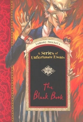 A Series of Unfortunate Events Blank Book