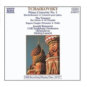 Tchaikovsky: Piano Concerto No. 1; The Tempest; Eugene Onegin