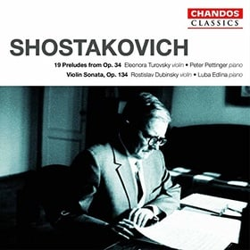 Shostakovich - Works for Violin and Piano