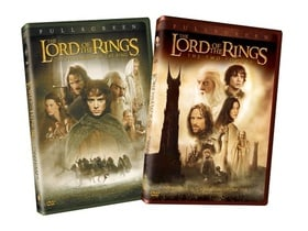 The Lord of the Rings - The Fellowship of the Ring / The Two Towers (Full Screen Editions) (2-Pack)