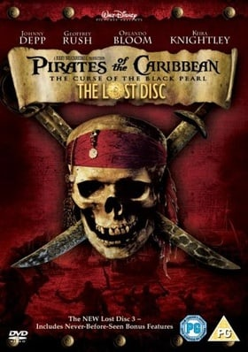Pirates Of The Caribbean - The Curse of the Black Pearl (The Lost Disc Special Edition 3 Disc Gift S