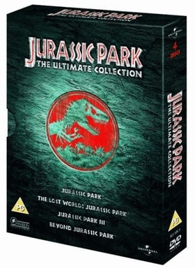 Jurassic Park - The Ultimate Collection (4 Disc)