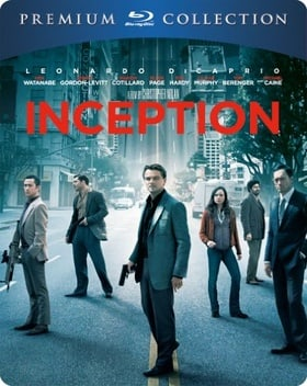 Inception - Premium Collection Steelbook (Blu-ray + UV Copy)[Region Free]