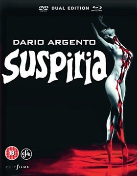 Suspiria 4K-Restored Limited Numbered Collectors Edition [Dual Format]
