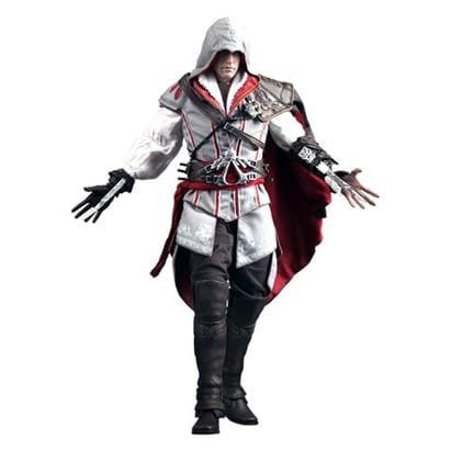 Assassins Creed 2 Hot Toys Video Game Masterpiece 1/6 Scale Collectible Figure Ezio