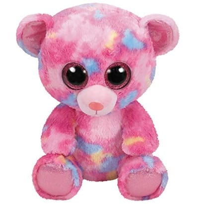 Franky - Pink Multicolored Bear